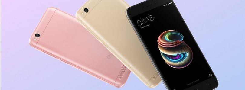 인도 스마트폰 시장에서 샤오미 성장을 이끈 홍미5A Xiaoimi Redmi 5A