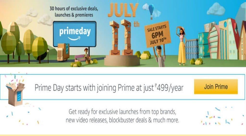 인도 아마존 프라임 데이 및 프라임 멤버쉽 499 Cr 프로모션 Amazon prime day Amazon prime membership india
