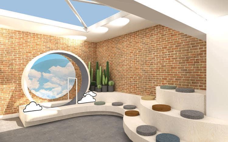 뉴욕 소호거리에 위치한 올버즈 컨셉 스토어 내부 allbirds store interior