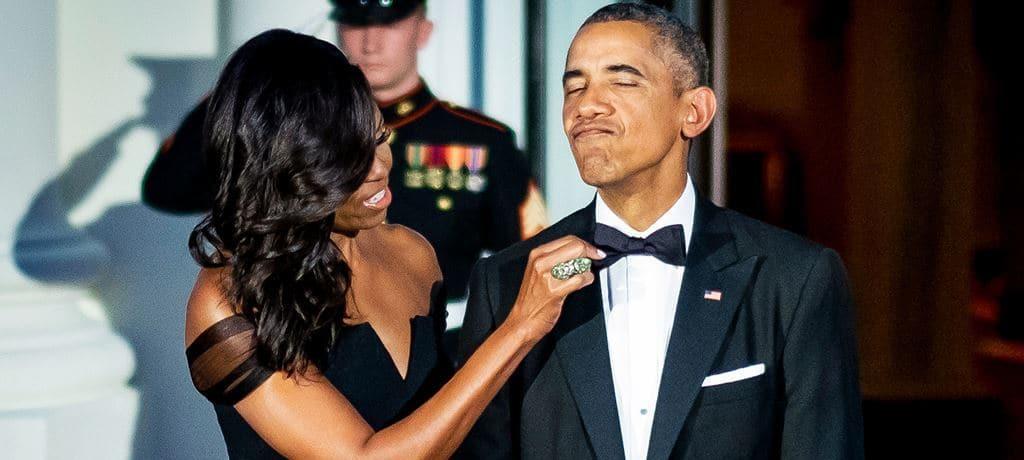버락 오바마(Barack Obama)와 미쉘 오바마(Michelle Obama)