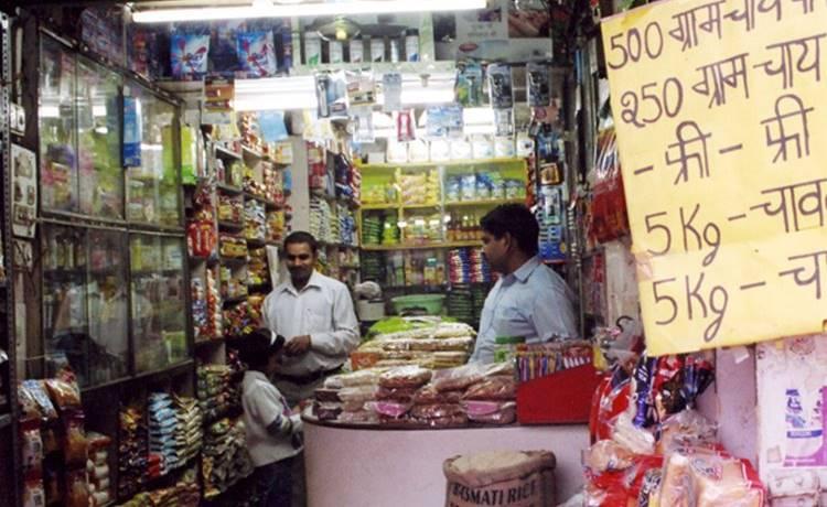 인도 India Kirana store 구멍가게