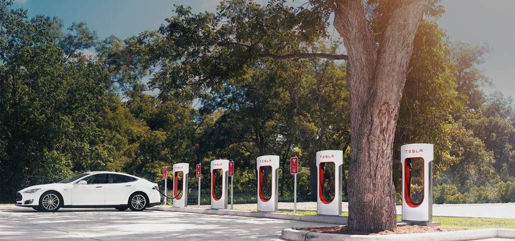 테슬라 전기자동차 충전소 슈퍼차저 Tesla Super charger