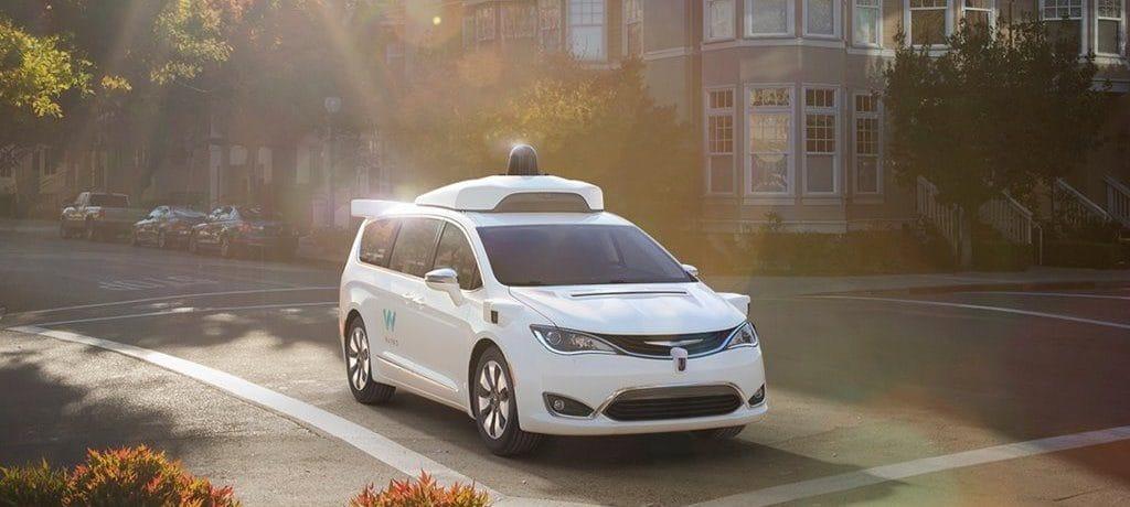 구글 웨이모 자율주행차 미니밴,  이미지원 - 구글 웨이모