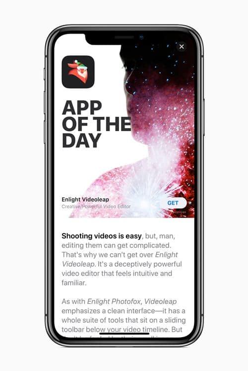아이폰 X 앱 오브 더 데이 iPhone X app of day 20180104