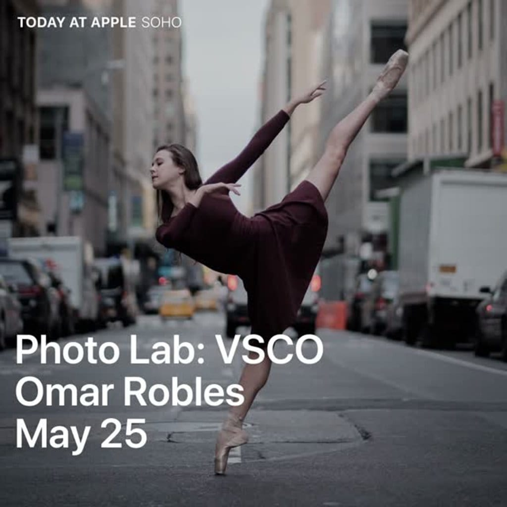 애플 투데이 엣 애플 포토랩 Apple Today at Apple Photo Lab Omar ZRobles guide