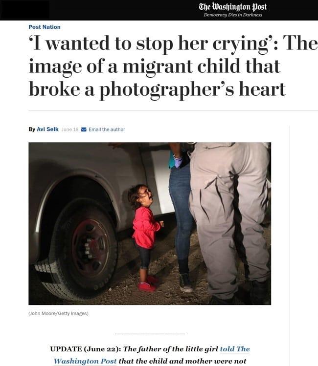 워싱턴 포스트 보도 내용 난 그녀의 울음을 그치게 하고 싶다 The Washington Post