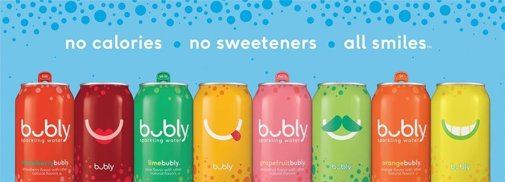 펨시코의 셀처 워터(Seltzer Water) Bubly