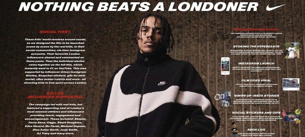 2018 칸 영화제 그랑프리 나이키 Nothing Beasts a Londoner 03