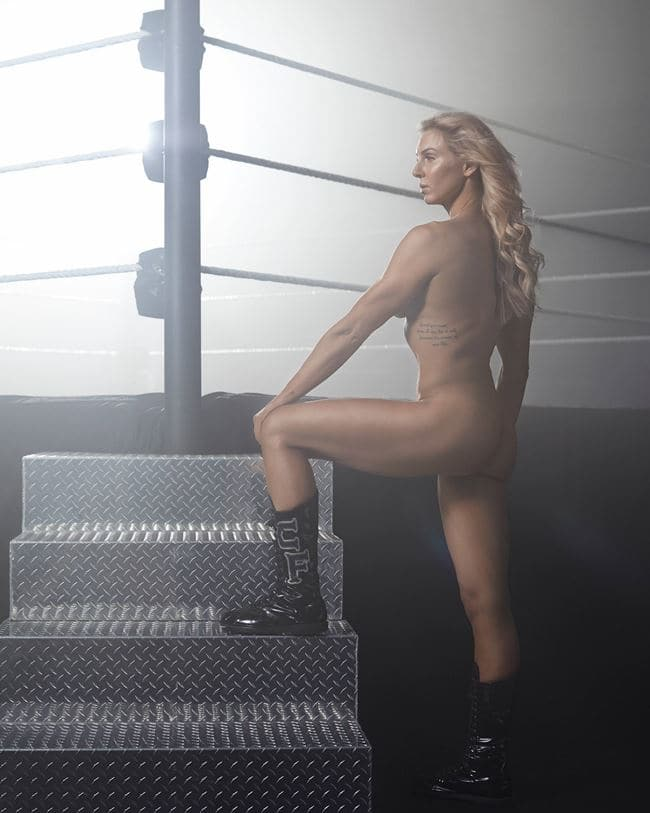 ESPN 바디 이슈 2018 Body Issue Behind the scenes by Eric Lutzens 샬럿 플레어(Charlotte Flair)_001
