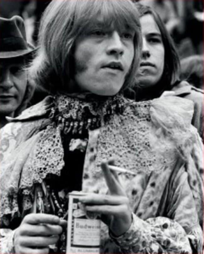 버드와이저가 등장한 사진 1967 Monterey Audience Budweiser