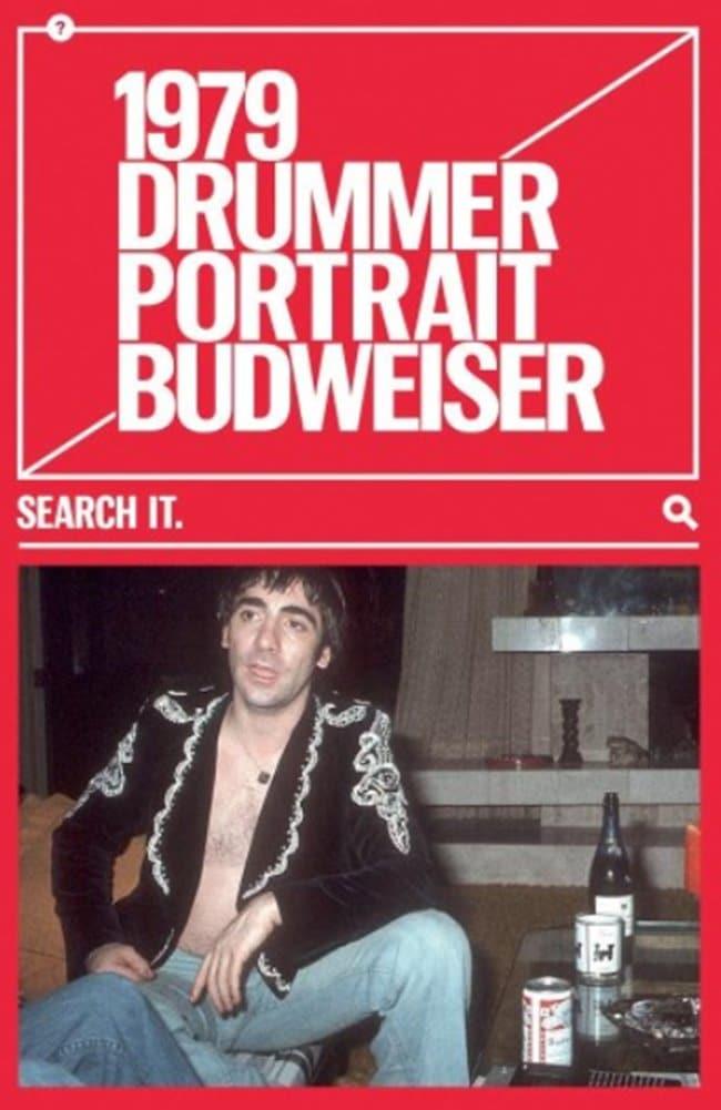 버드와이저 2018 칸 국제영화제 그랑프리 TAGWORDS 옥외광고_1979 Drummer Portrait Budweiser