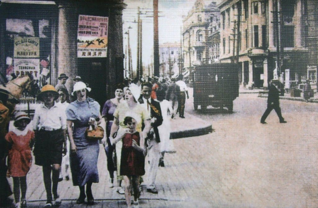 이효석문학관_하얼빈 중앙대가의 외국인들 1920년대 풍경