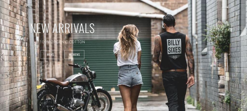 인플러언서 마케팅 사례 Billy Sixes - Image source - Billy ixes.com