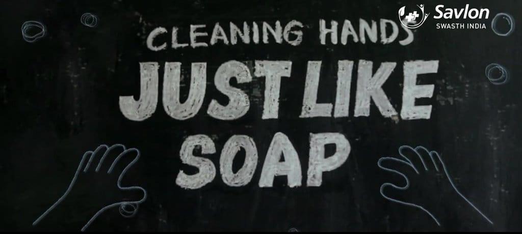 비누처럼 깨끗하게 씻어지는 분필 Savlon Healthy Hands Chalk Sticks - English.mp4_20180701_141419.401