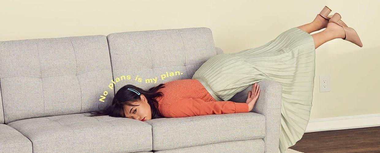 무계획이 나의 계획이애 No Plan is mu plan Sofa start-up Burrow Ad Campaign