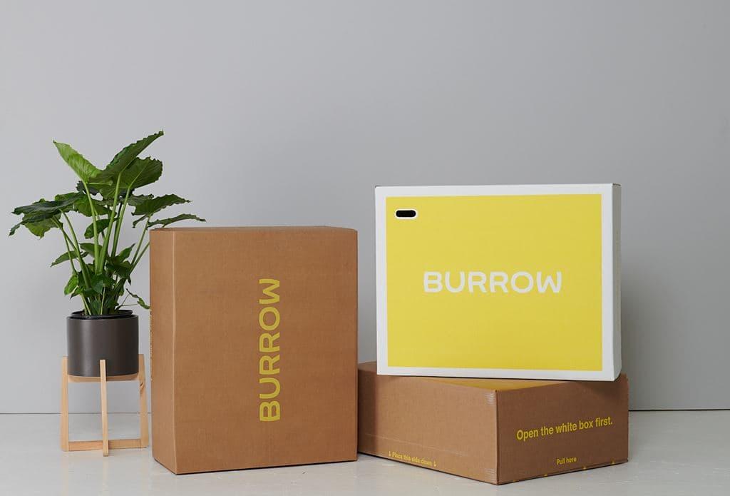 버로우(Burrow) 포장박스, Image - Burrow
