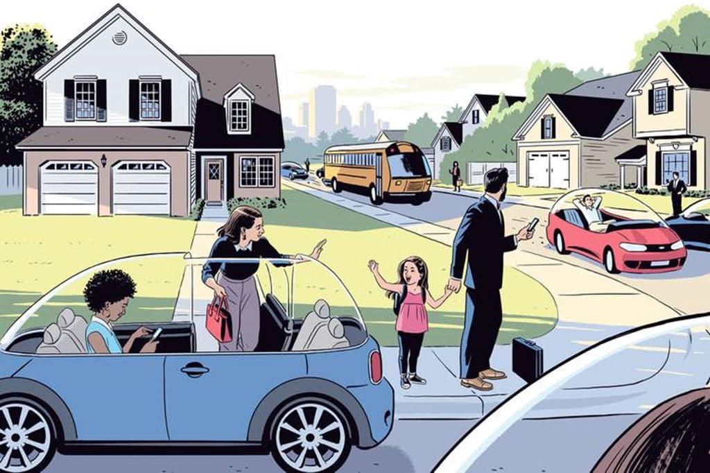 자율주행 자동차 시대, The end of Car Ownership 이미지원 - 월스트리트저널