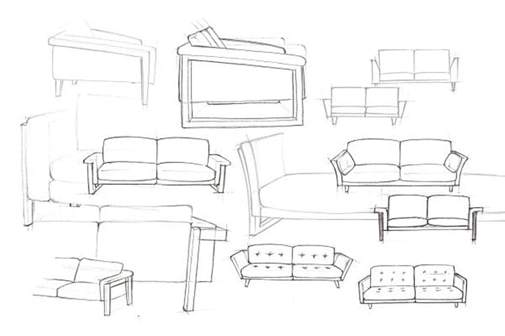 초기 스티븐 쿨(Stephen Kuhl)의 오리지널 스케치, Some of Kuhl's original sketches