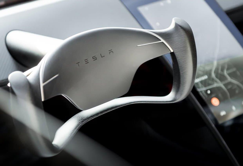 테슬라 차세대 로드스터 스티어링 휠 디자인(Tesla Roadster 2020 Interior) 05, Image - Tesla