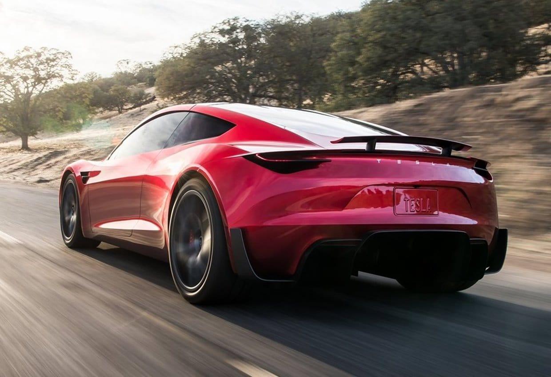 테슬라 차세대 로드스터(Tesla Roadster 2020) 뒤에서 본 모습, Image - Tesla