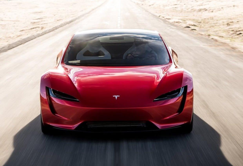 테슬라 차세대 로드스터(Tesla Roadster 2020) 정면, Image - Tesla