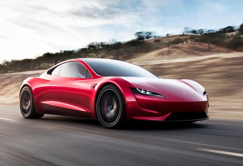 테슬라 차세대 로드스터(Tesla Roadster 2020) 전면+사이드, Image - Tesla