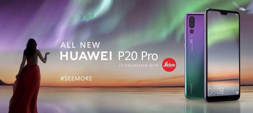 최초 트리플 카메라를 장착한 화웨이 P20 Pro huawei p20 pro gal gadot