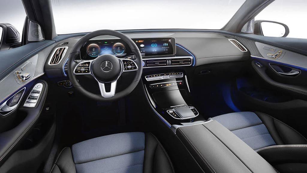 메르세데스 벤츠 전기자동차 EQC(Mercedes-Benz EV EQC) 내부 전면 디자인, Image - Mercedes-Benz