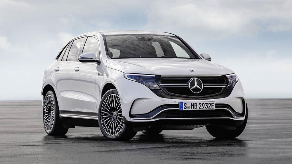 메르세데스 벤츠 전기자동차 EQC(Mercedes-Benz EV EQC) 전면,Image - Mercedes-Benz
