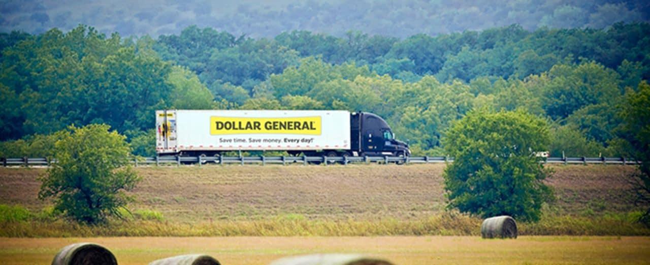 미국 유통업체 달러 제너널(Dollar General) 배송트럭, Image - Dollar General