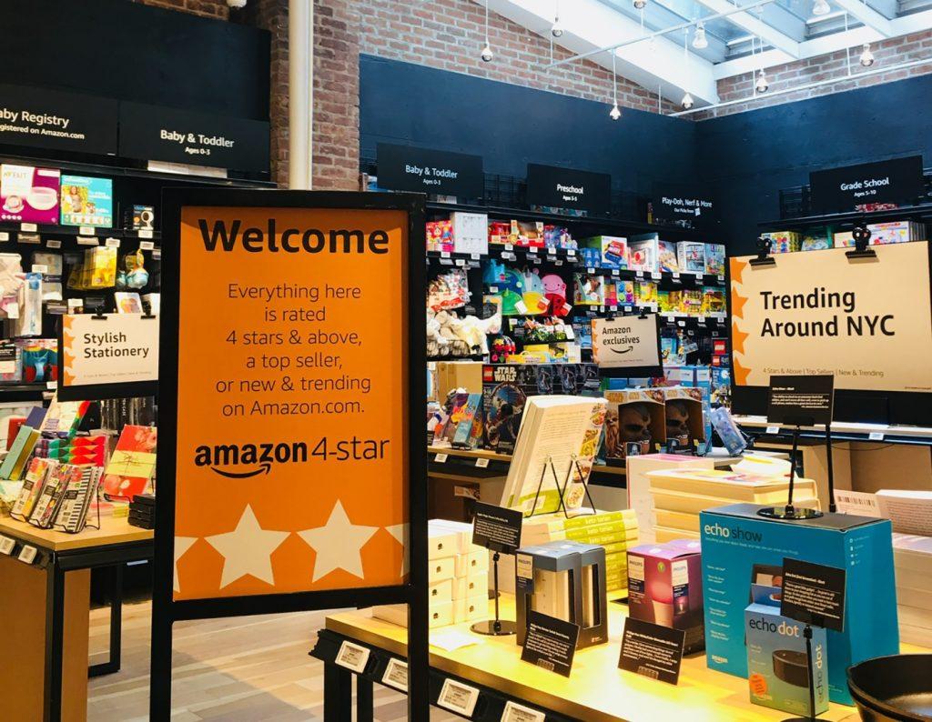 아마존 오프라인 매장, Amazon 4 Star, Wwlcome