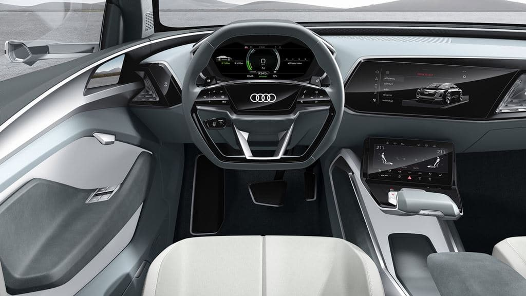 아우디 이트론(Audi e-tron) 내부 디자인, Image - Audi