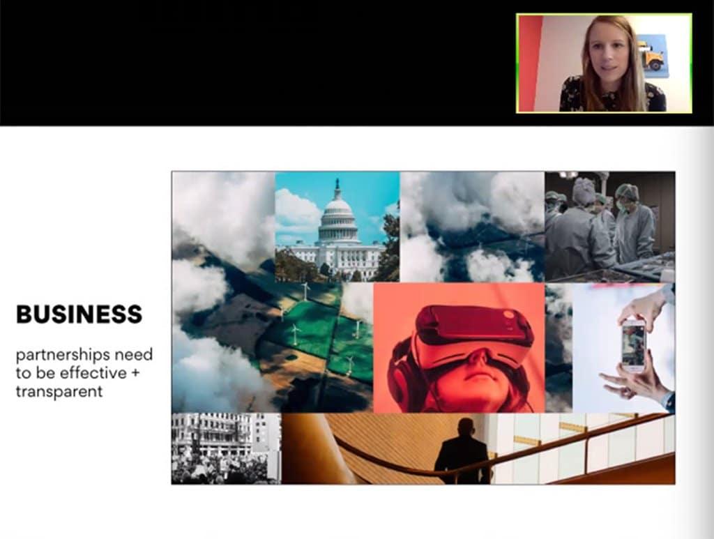 악시오스(Axios) 비니지스 모델, The Axios business model combines native advertising in an effective and transparent way, Image - INMA.ORG