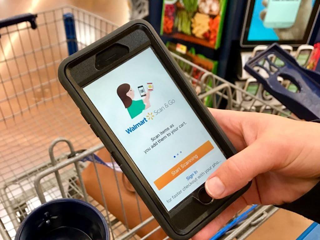 월마트 스캔앤고(WalMart Scan&Go) 스마트폰, Image - WalMart