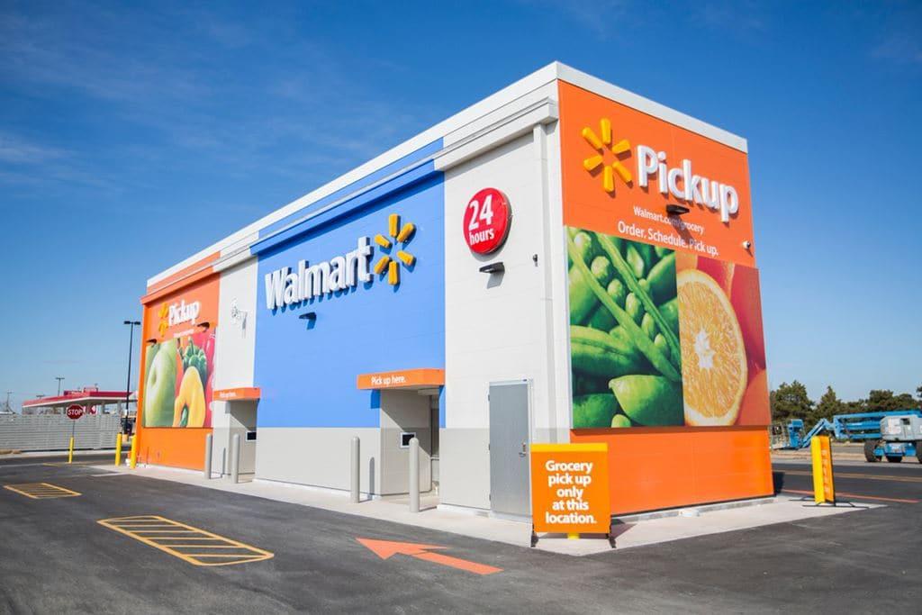 월마트 자동 키오스크 픽업 스테이션(WalMart Automated Kiosk), Image - Engadget