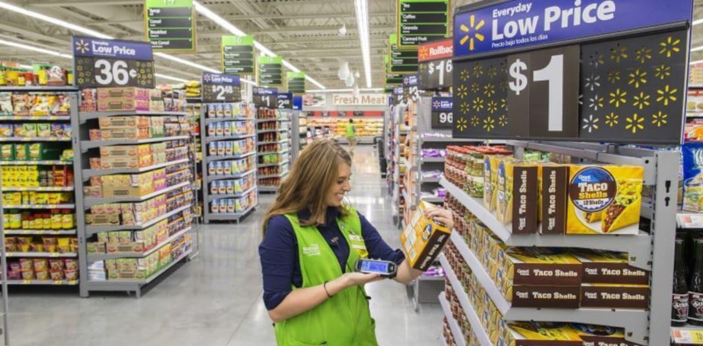 월마트 Neighborhood Market 매장 내부 모습, 어디에서나 Everyday Low Price 구호를 만날 수 있다, Image - WalMart