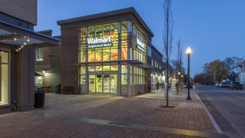 월마트 Neighborhood Market 매장 외부 모습, Image - WalMart