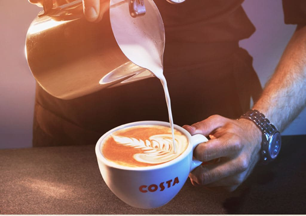 코스타 커피(Costa Coffee), Image - Costa