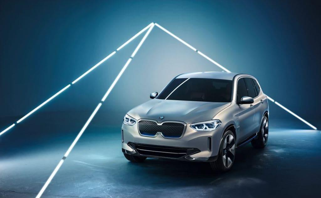 BMW 전기자동차 컨셉카 iX3 앞면 모습, Image - BMW