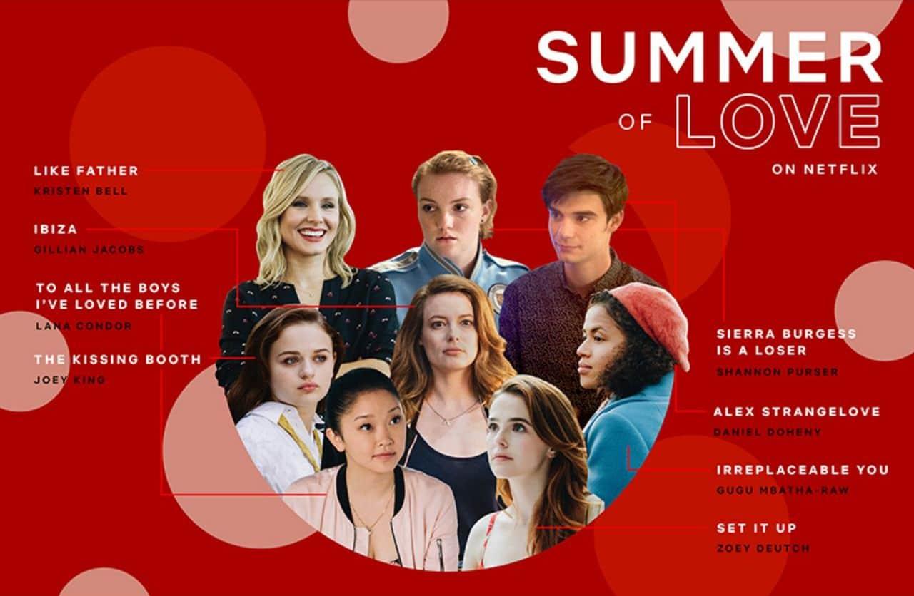 넷플릭스 Summer of Love 케페인