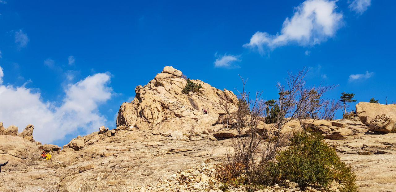설악산 권금성 봉화대 풍경