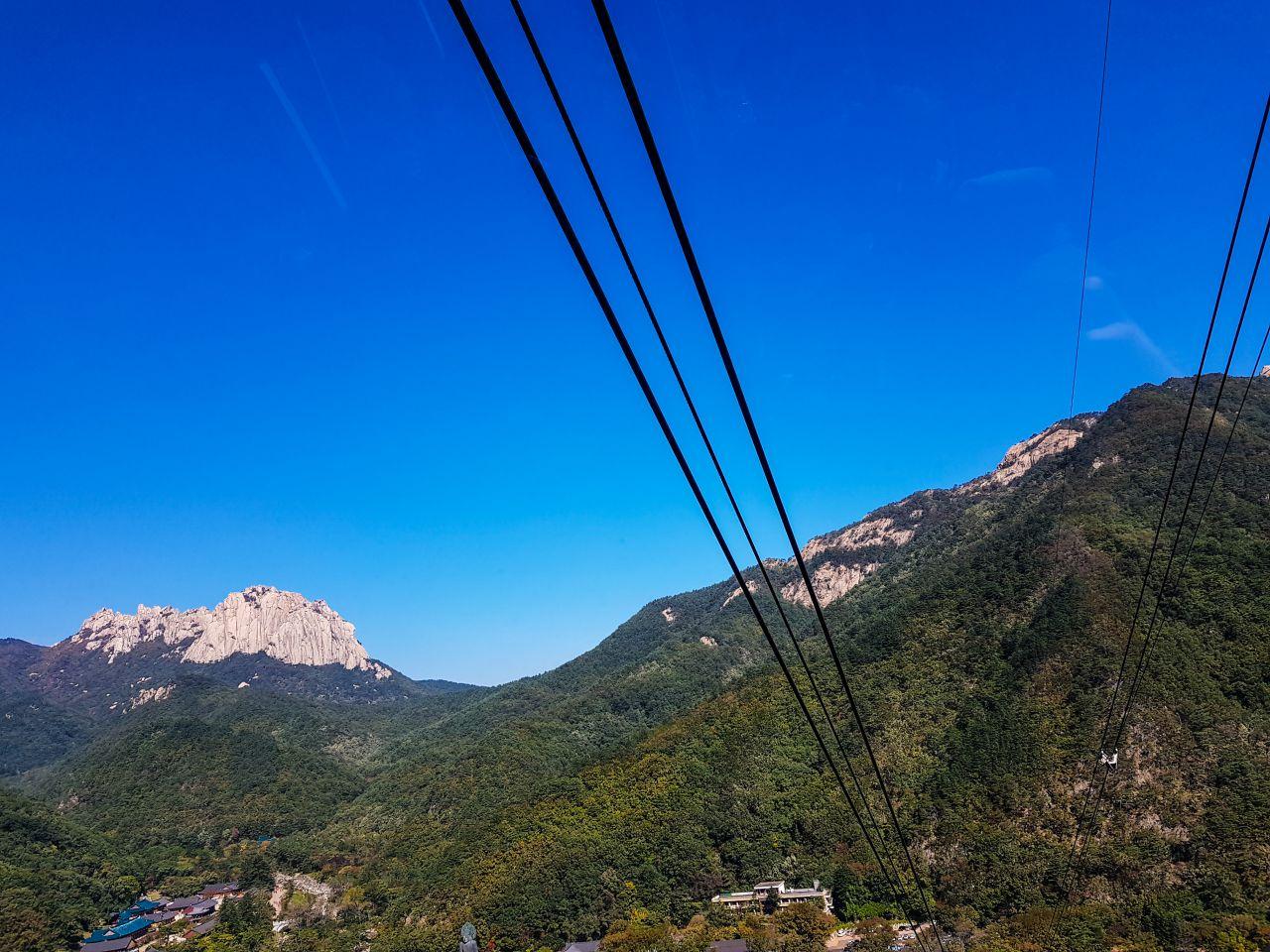설악산 케이블카에서 바라본 울산바위-110134