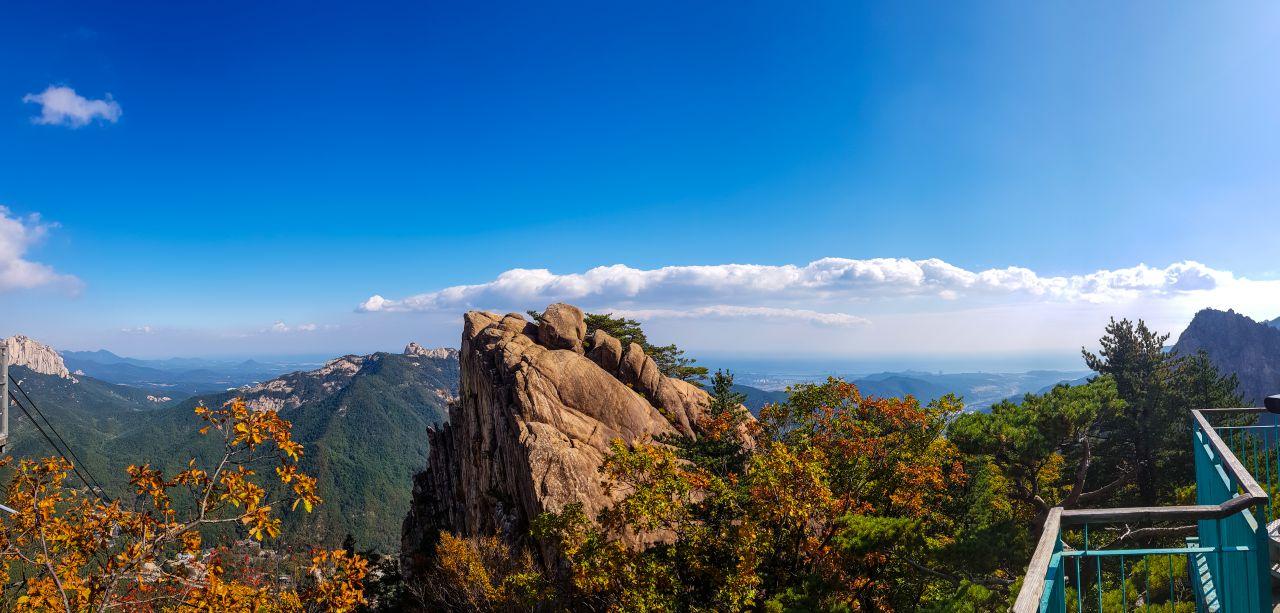 설악산 케이블카 도착지에서 바라본 주변 풍경-100553
