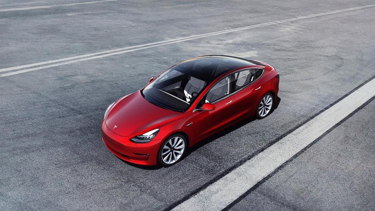 테슬라 모델 3 Tesla Model 3, Image - Tesla