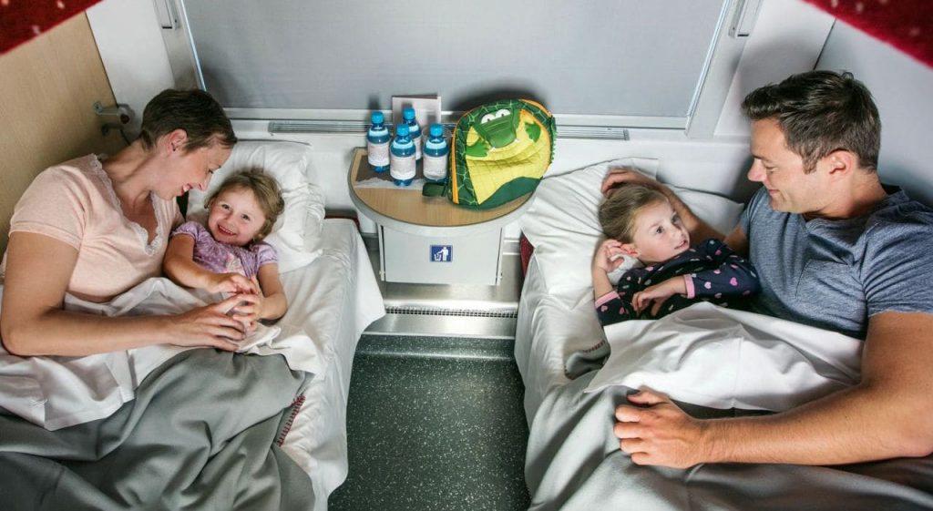 대중교통 여행 - 대중교통 여행 - OBB Nightjet 열차 내부 모습 03, Image - OBB