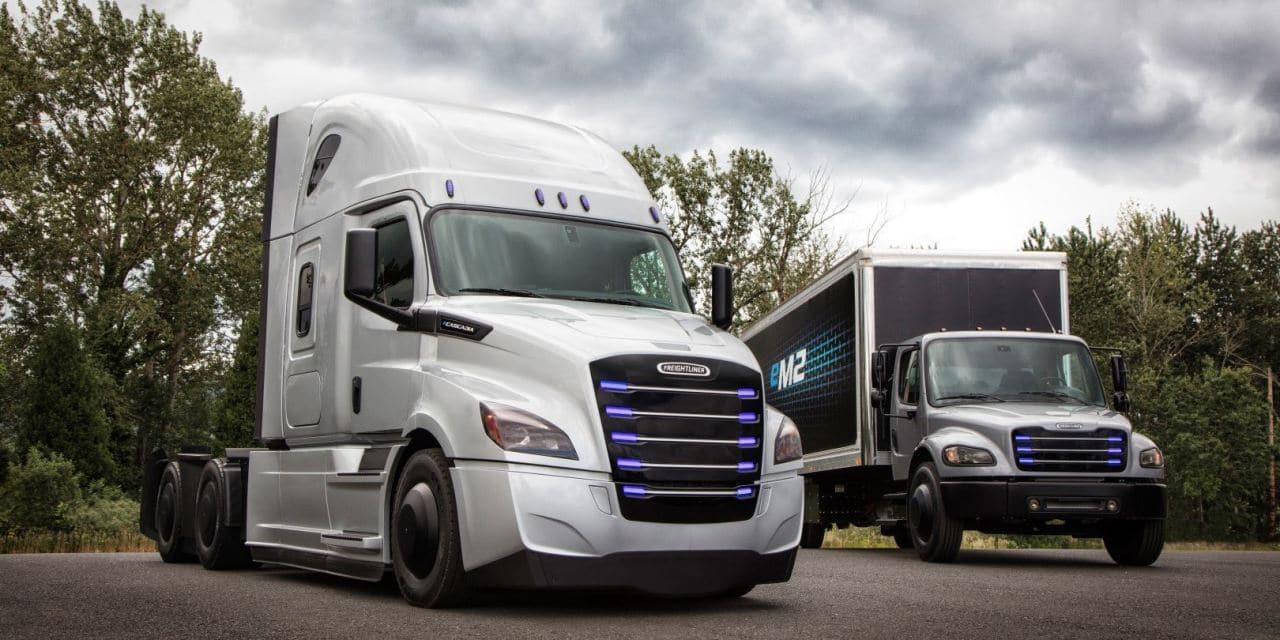 메르세데스 벤츠 모회사인 다임러가 발표한 전기자동차 트럭 컨셉 이미지, Image - Daimler