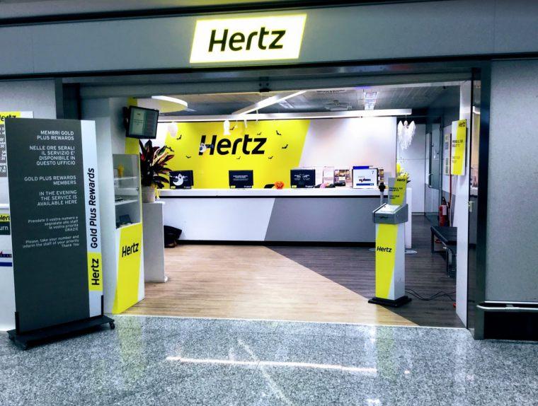 이탈리아 밀라노 공항 터미널 1 허츠 렌트카 사무소, Image - Google