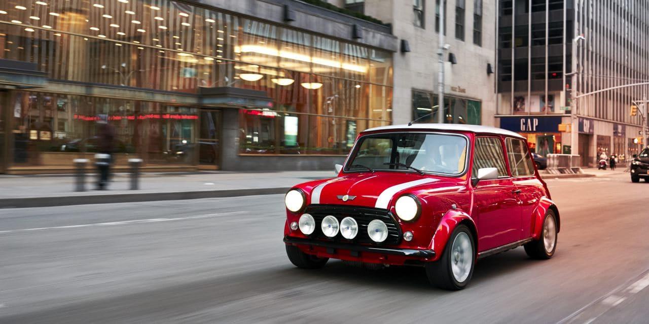 BMW 미니 전기자동차 컨셉 이미지 classic mini electri, Image - BMW