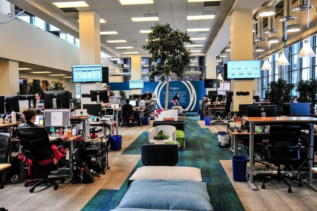 급여 소프트웨어를 개발하는 Gusto 샌프란시스코 사무실  모습, Image - Gusto
