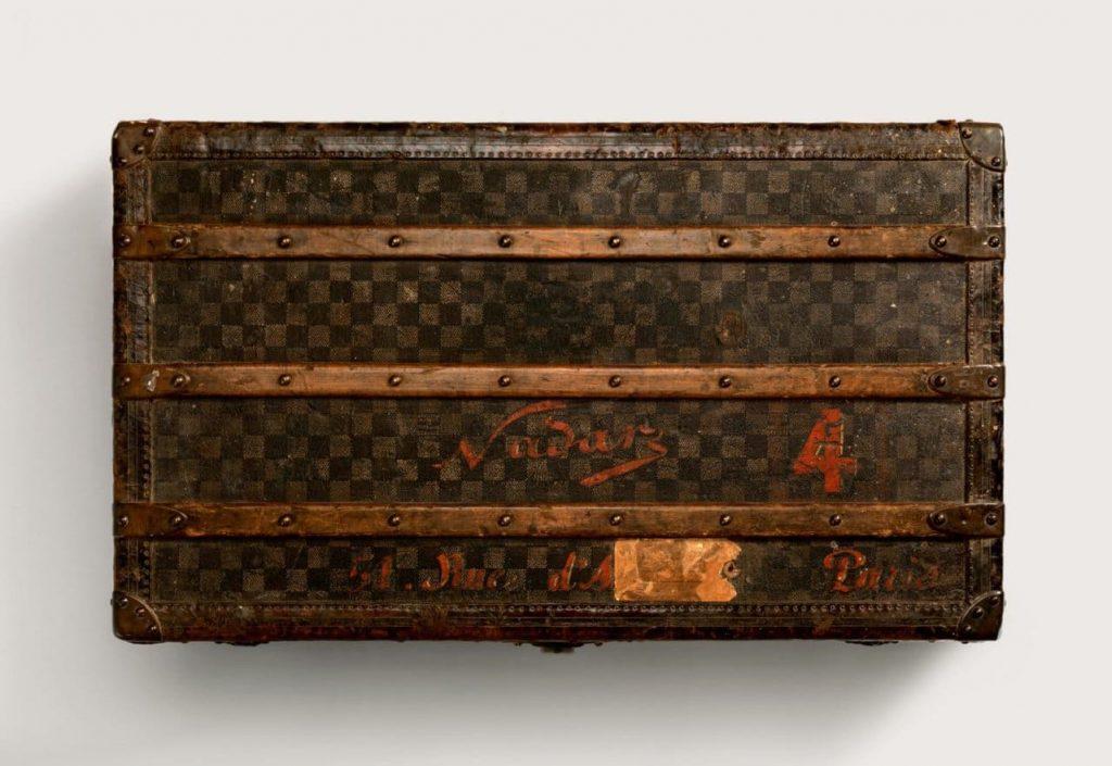 루이비통(Louis Vuitton) 다미에 캔버스 캐빈 트렁크 1890년 제작 trunks, Image 루이비통(Louis Vuitton)
